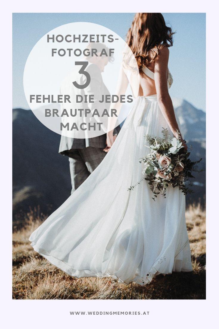 3 Fehler die jedes Brautpaar macht wenn sie ihren ...