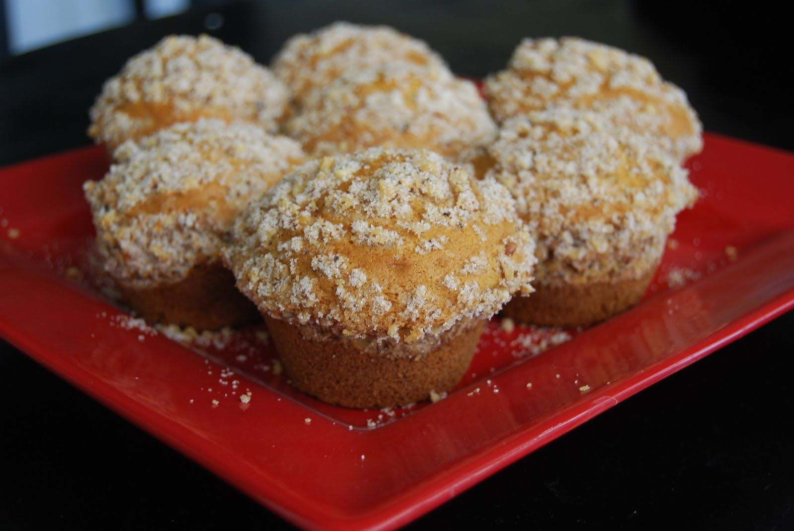 mm.. love these pumpkin spice muffins at mimis cafe! one of my favorite things about fall!