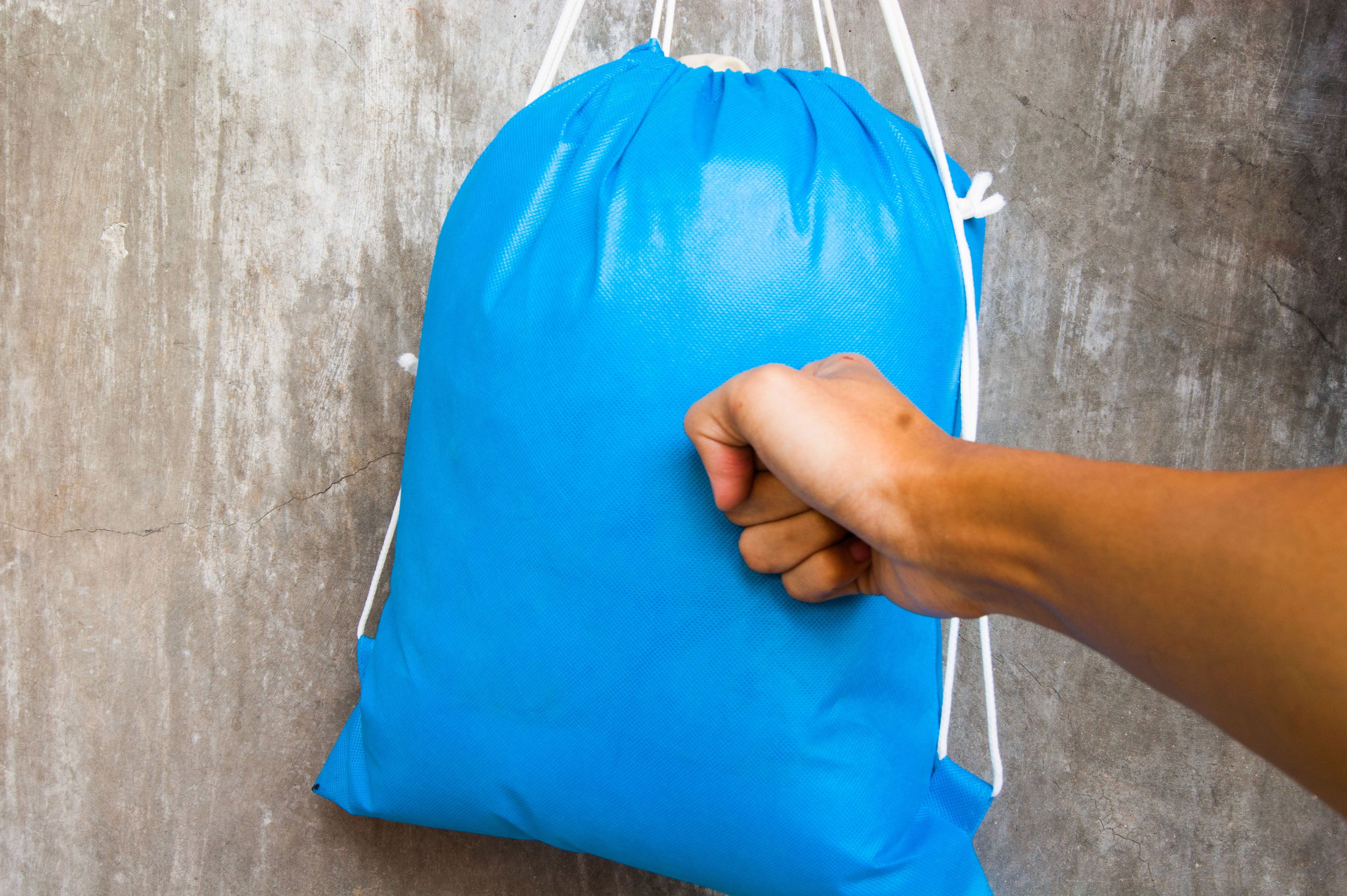 How To Make A Punching Bag For Free  Via Wikihow