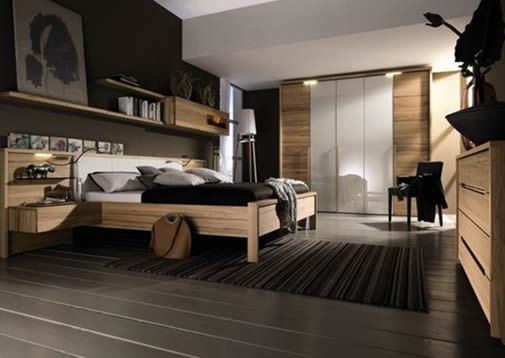 Home Design: Modern Single Bedroom From Hulsta
