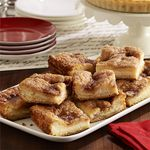 Sopapilla Cheesecake Pie Recipe | MyRecipes.com