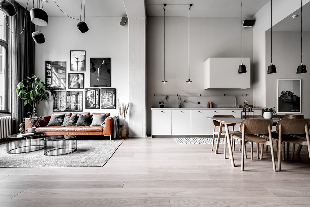 Cool Scandinavian Loft For A Young Family With A Child In 2020