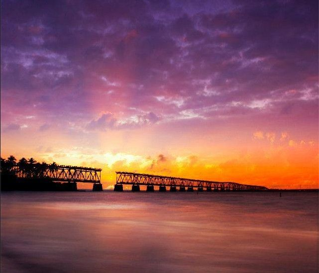 The sun is coming up over the Florida Keys after a (thankfully) uneventful storm this past week. One of my favorite places to fish for tarpon in the keys ... at the north end of Big Pine Key, FL