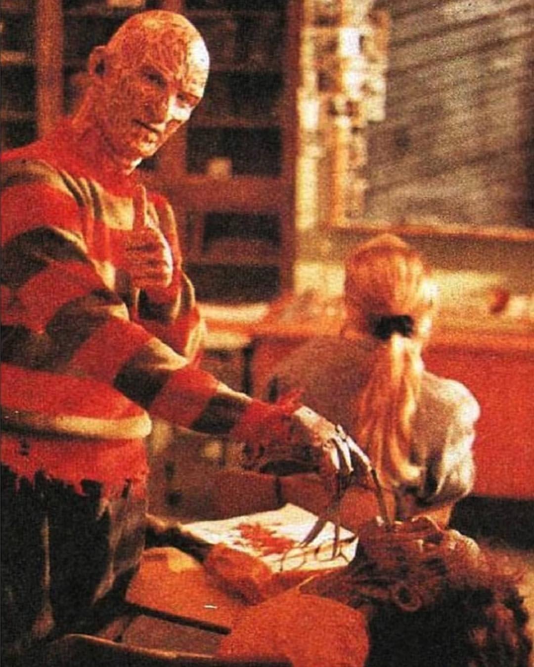 Behind The Scenes Of A Nightmare On Elm Street 4 Horror Movie