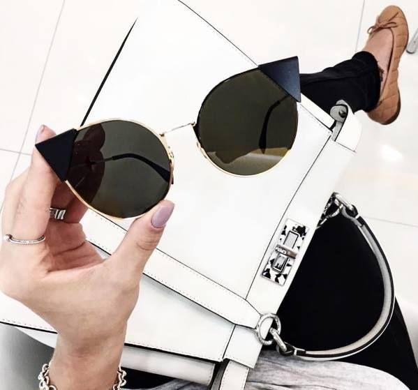 84c766025 Óculos de sol moderno | Quero | Gafas de moda, Anteojos de moda e ...