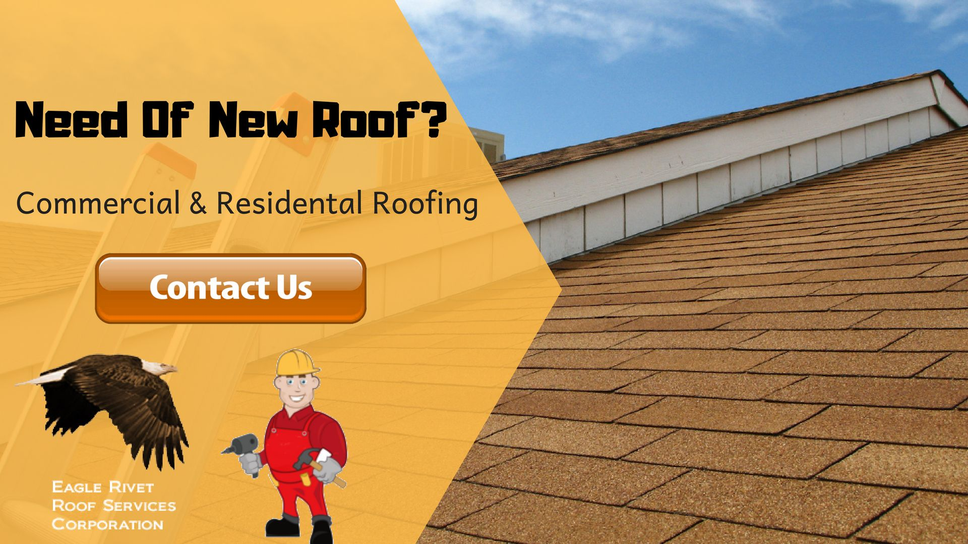 Do Your Roof Needs Replacement Services Eagle Rivet Roof Services Corporation Specialist Will Ensure That Your Home Has A Roofing Services Roof Problems Roof