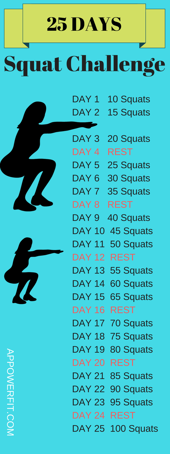 Most Effective Squat Challenge   Workouts♀️   Workout