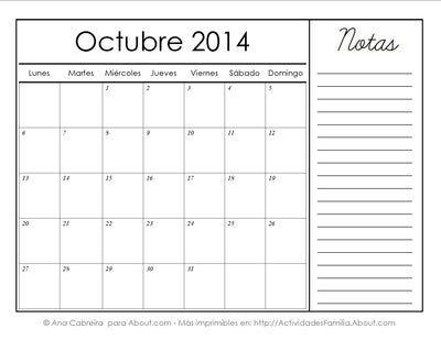 http://actividadesfamilia.about.com/od/Calendarios/ss/Calendarios-Imprimibles-Del-2014-Con-Espacio-Para-Notas_10.htm