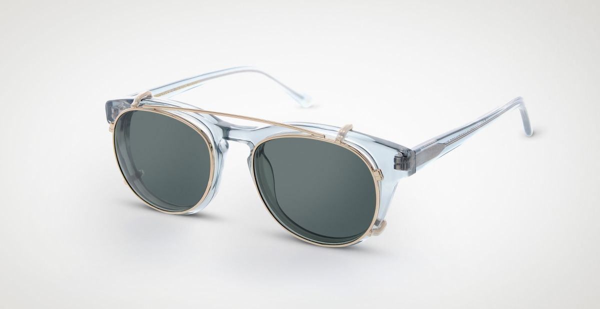 a83ef8bca33 Timeless Clip-on Grey transparent - sunglasses - Timeless - Han Kjøbenhavn
