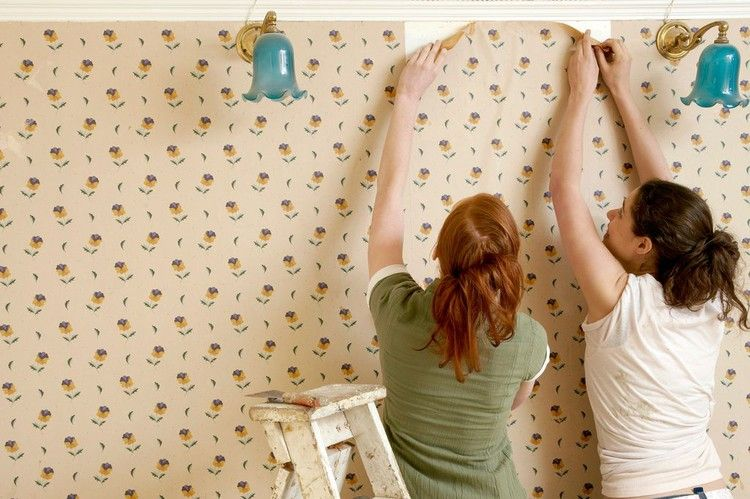 Diy Fan Shares Hack To Strip Stubborn Wallpaper In Minutes Costing Just 85p Mirror Online Remove Wallpaper Glue Old Wallpaper Removing Old Wallpaper