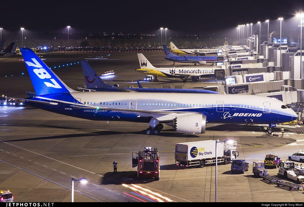 Boeing 787-881 Dreamliner. Hermoso!