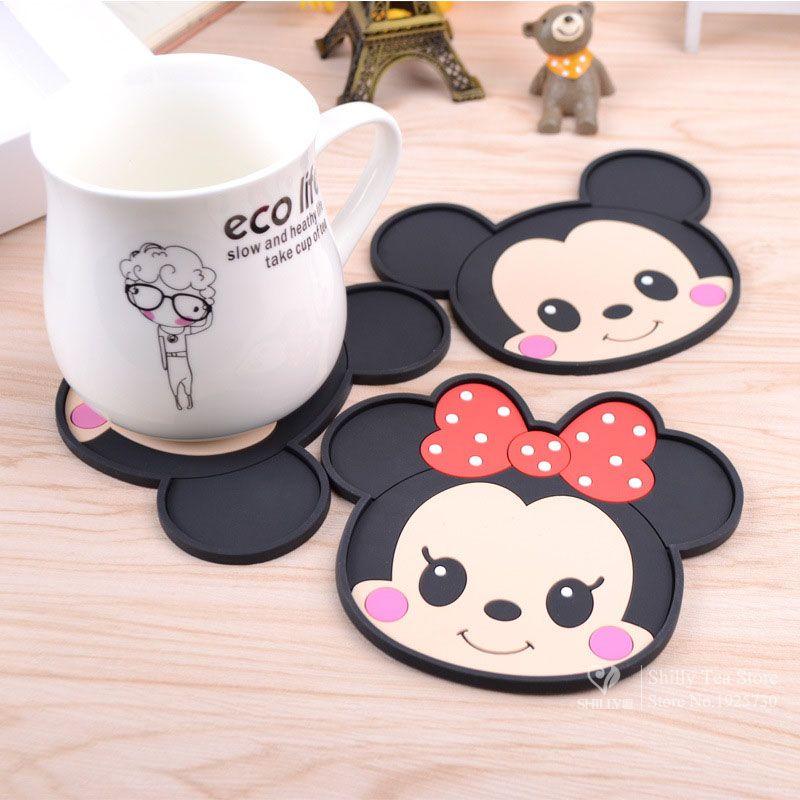 Mickey Maus silikon esstisch tischsets bahn kaffee getränke küche ...