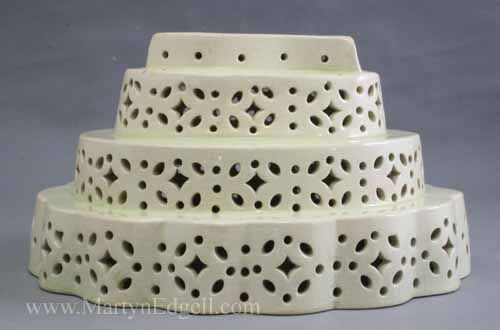 Creamware food mould, circa 1800