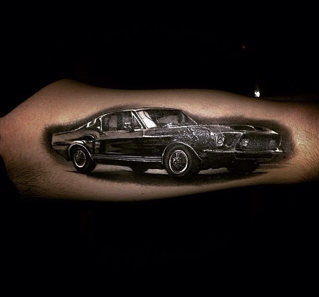 TATTOOS.ORG - 67 Shelby Mustang tattoo Submit Your Tattoo Here:...