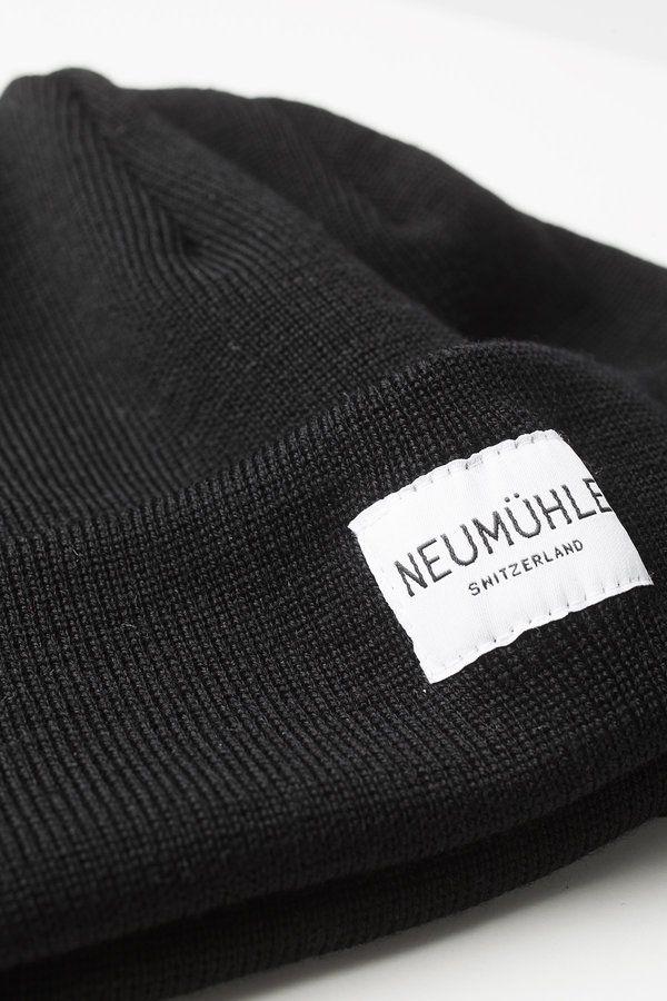 Neumühle Nebel beanie - black
