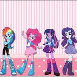 Rótulo Lata de Leite Equestria Girls (My Little Pony):
