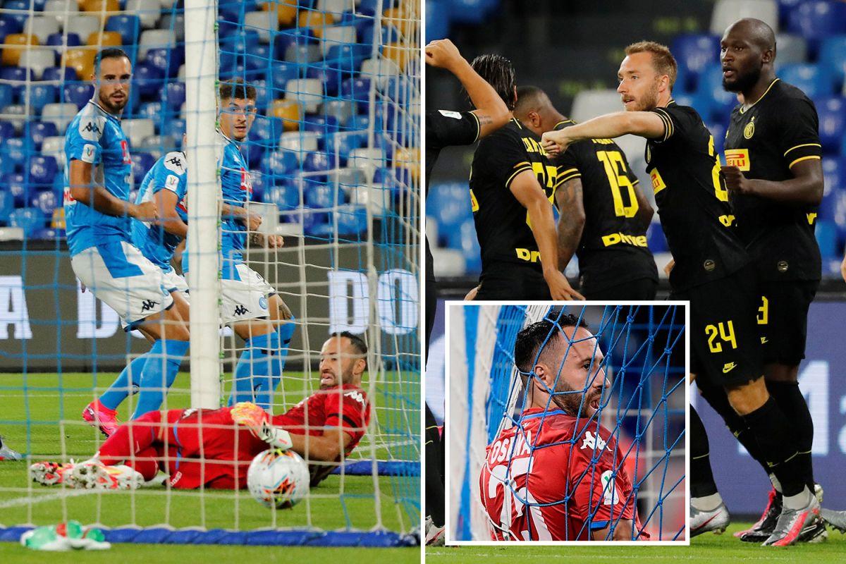 HT Napoli 11 Inter Milan LIVE SCORE (21 agg) Mertens