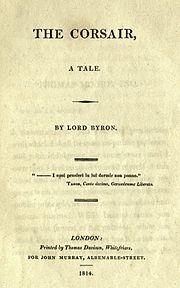 The Corsair Wikipedia The Free Encyclopedia Romantic Poets