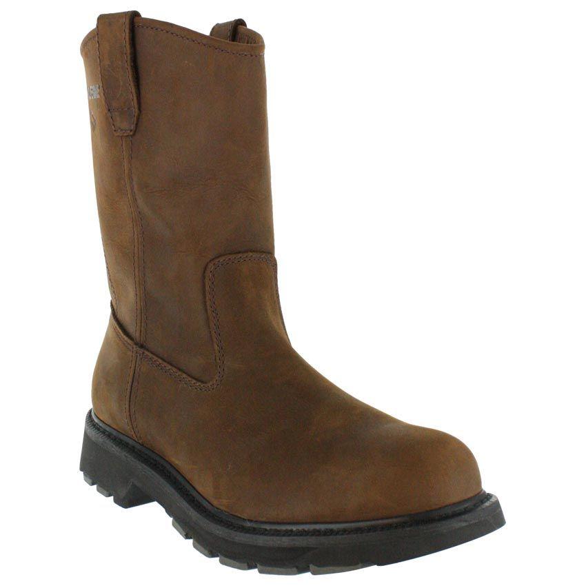 1c06869699ba Wolverine Men s Steel Toe Wellington Work Boots