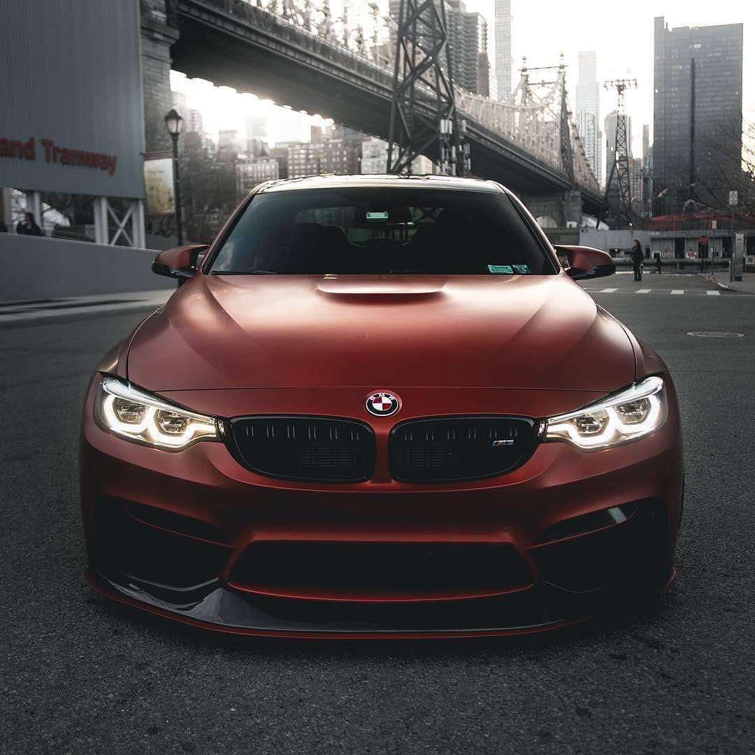 Bmwcars: BMW F80 M3 Burgundy