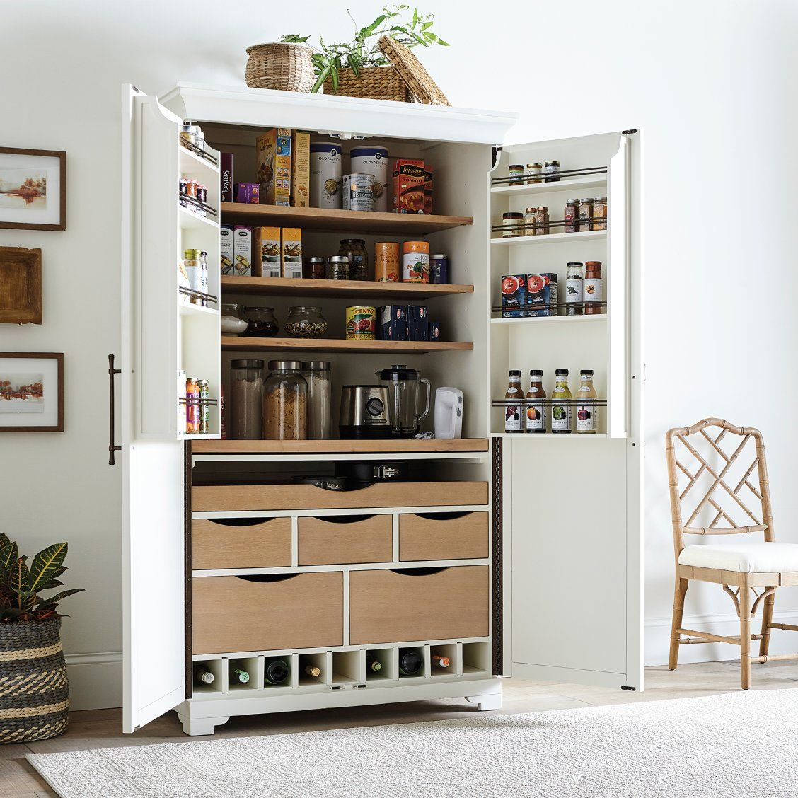 Fairmont Pantry Cabinet In 2020 Pantry Cabinet Pantry Design Home