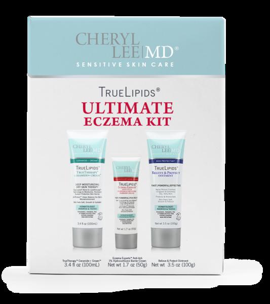 Eczema Skin Care Kit Sensitive Skin Care Hypoallergenic Skin Care