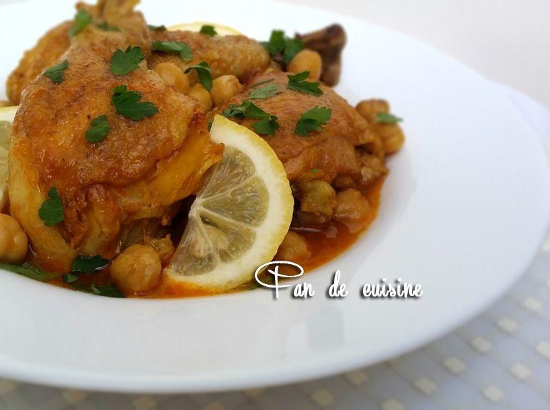 Chtitha Djedj-poulet en sauce  شطيطحة دجاج