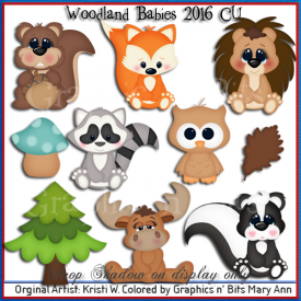Woodland Babies 2016 CU