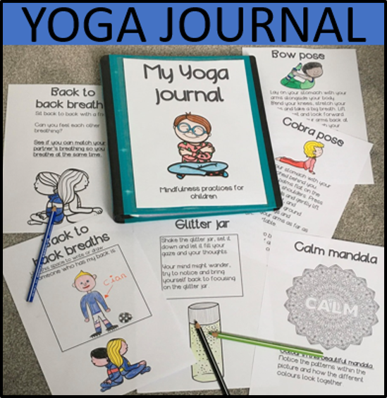 Kids Yoga Journal Sel Yoga Journal Yoga For Kids Yoga