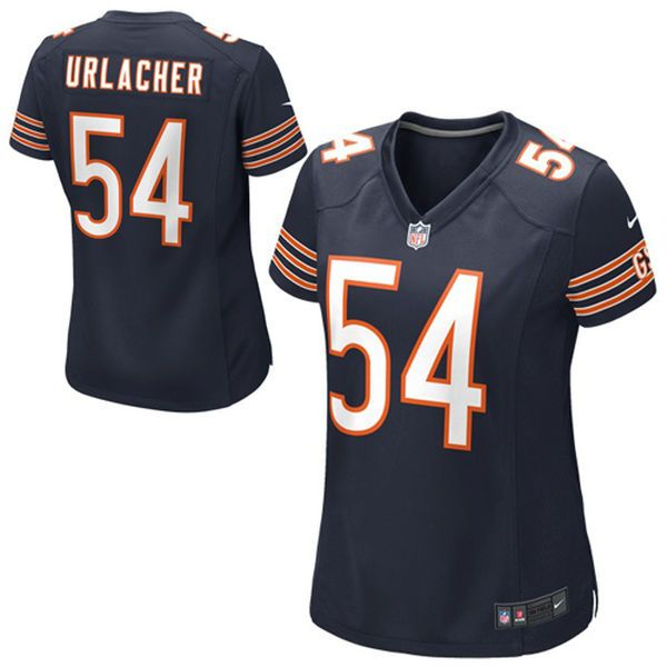 f40c6b62a Brian Urlacher Chicago Bears Nike Girls Youth Game Jersey - Navy Blue