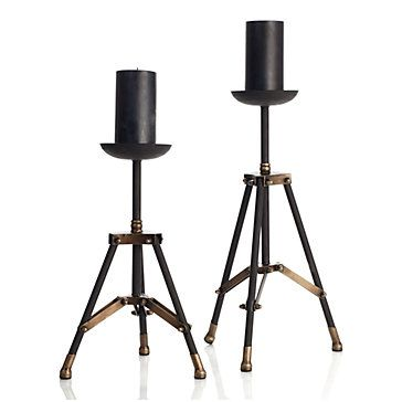 cool candleholders from z gallerie