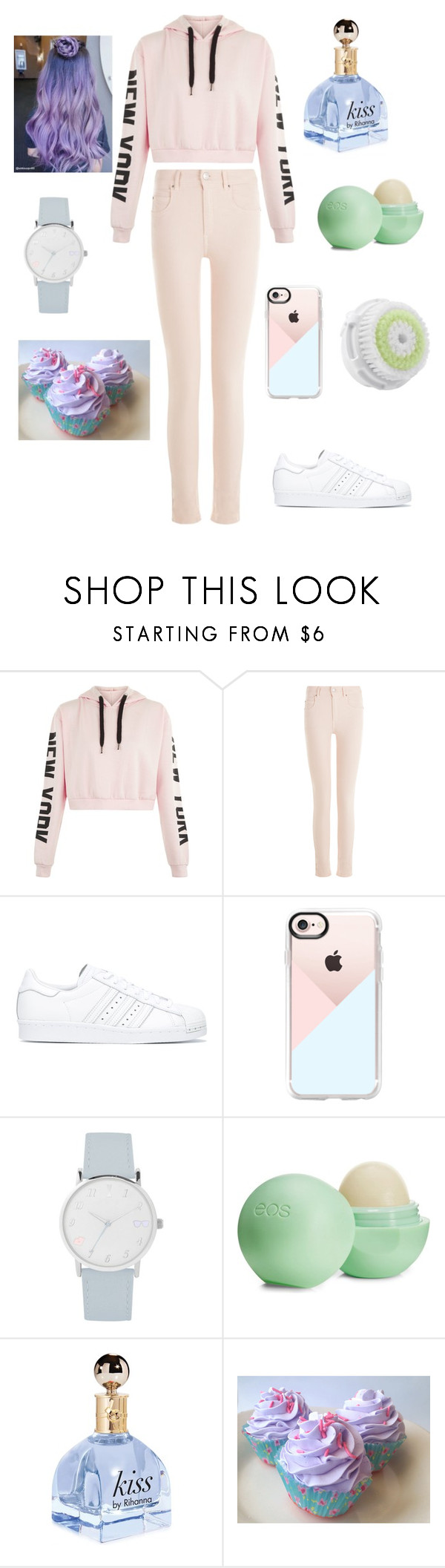 """""""living light"""" by karonyrenee ❤ liked on Polyvore featuring Étoile Isabel Marant, adidas, Casetify, A.X.N.Y., Eos and Clarisonic"""