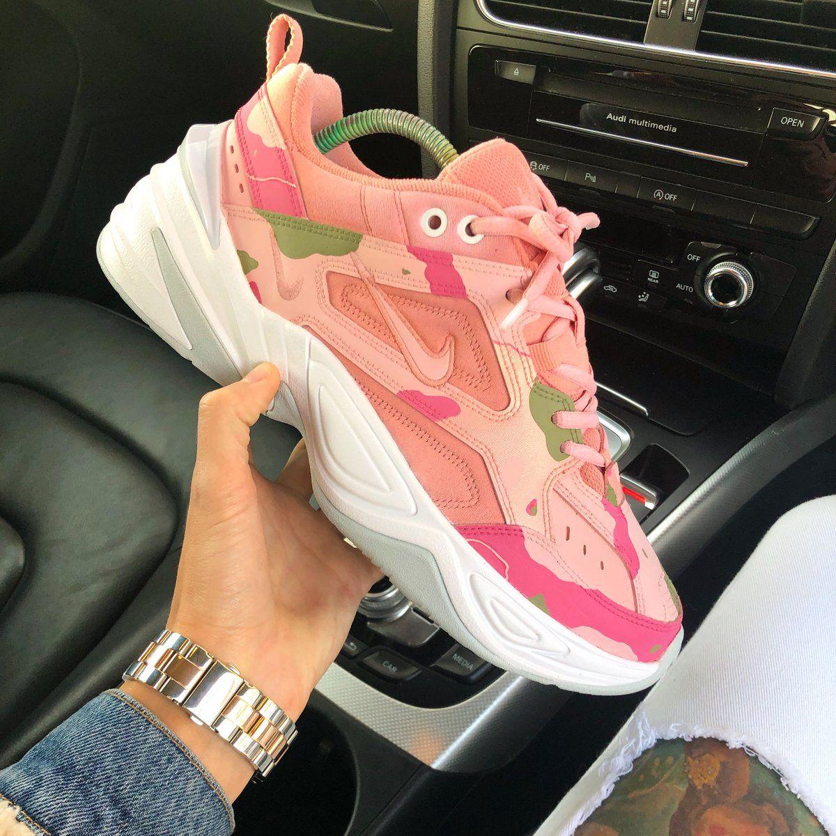 "69daa43a342f7 Nike M2K Tekno x KylieBoon ""CAMO PINK"" | KYLIE BOON | nike. in 2019 ..."