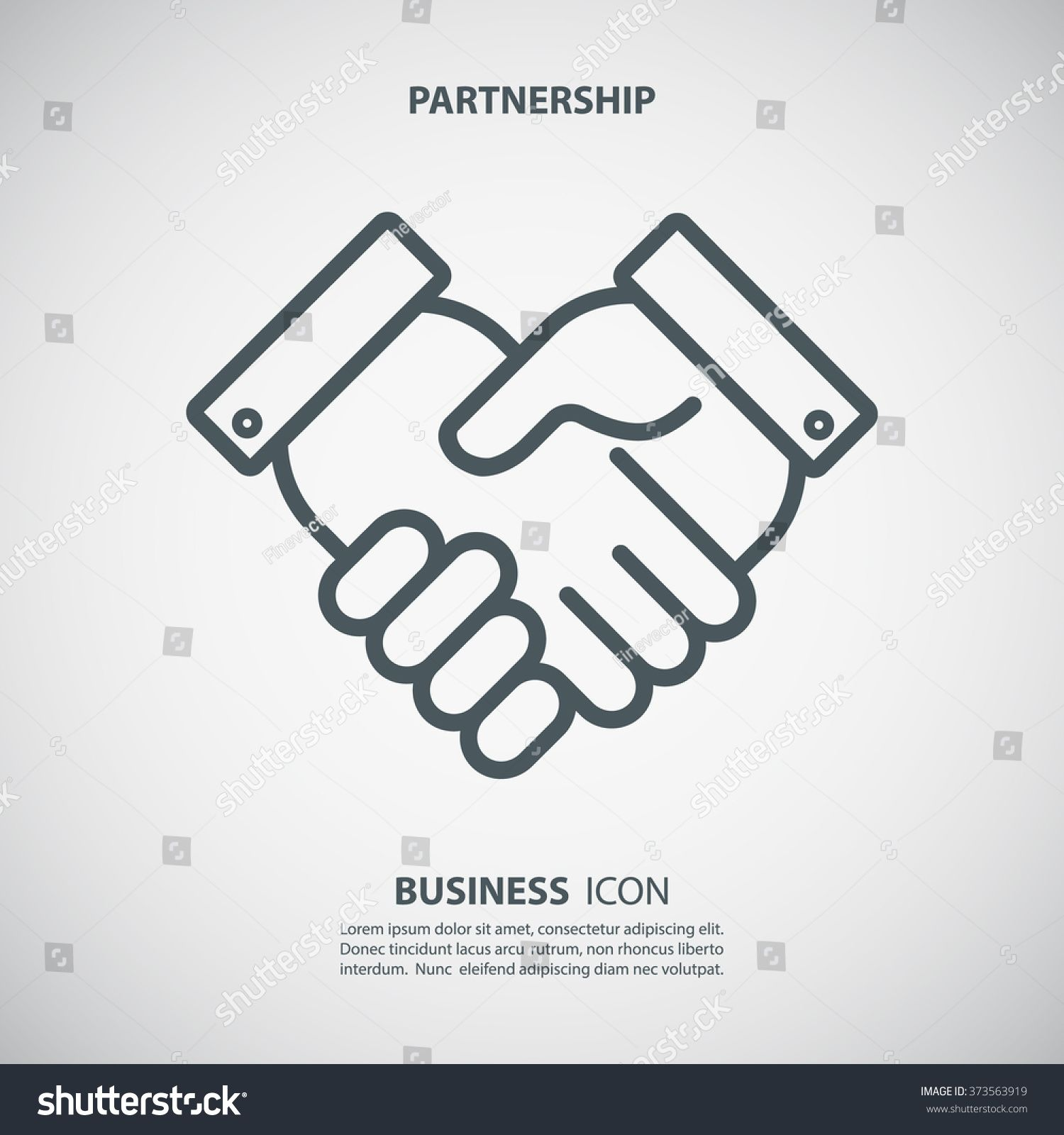 Partnership Icon Handshake Icon Teamwork And Friendship Business Concept Flat Vector Illustration Sponsored Sponsored Te Business Icon Teamwork Icon