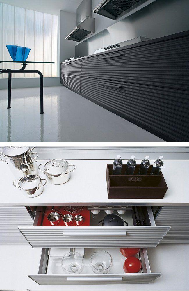 CINQUETERRE #kitchen By SCHIFFINI | #design Vico Magistretti
