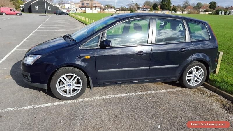 Ford Focus C Max Navy 5 Door Hatchback Ford Cmax Forsale