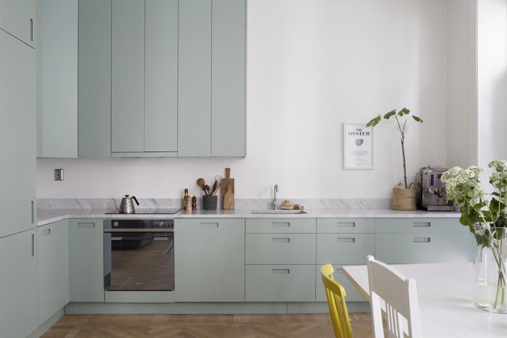 Mint Green Kitchen Coco Lapine Design