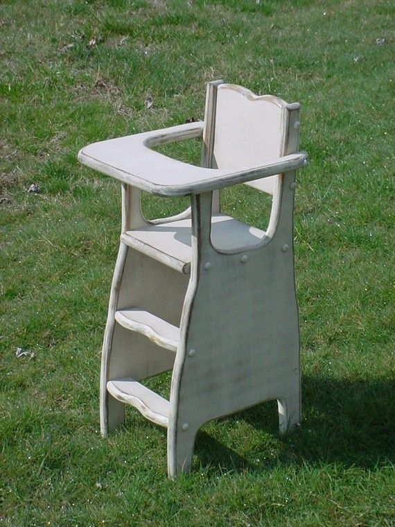 Doll Highchair Pattern Handmade If You Build It