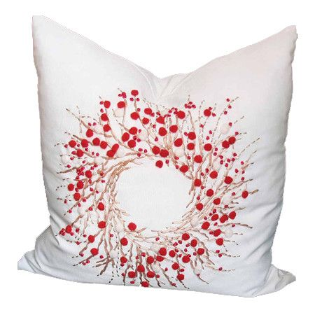 Found it at Wayfair - Holiday Berry Wreath Pillow http://www.wayfair.com/daily-sales/p/Pillows-%26-Tree-Skirts-from-%2415-Holiday-Berry-Wreath-Pillow~XIAH1060~E16008.html?refid=SBP.rBAZEVPC3mt4B2XSY3UVAotn7EHyVUEUkQZE00bRjEg