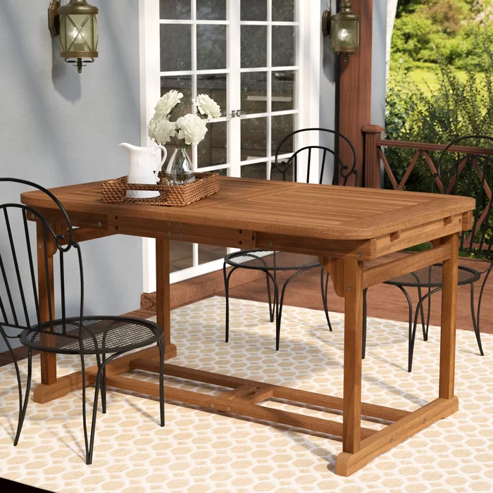 Tim Extendable Wooden Dining Table Dining Table Wooden Dining