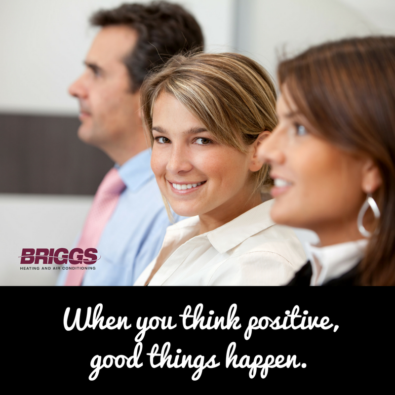 Positive thinking is more than just a tagline. It changes