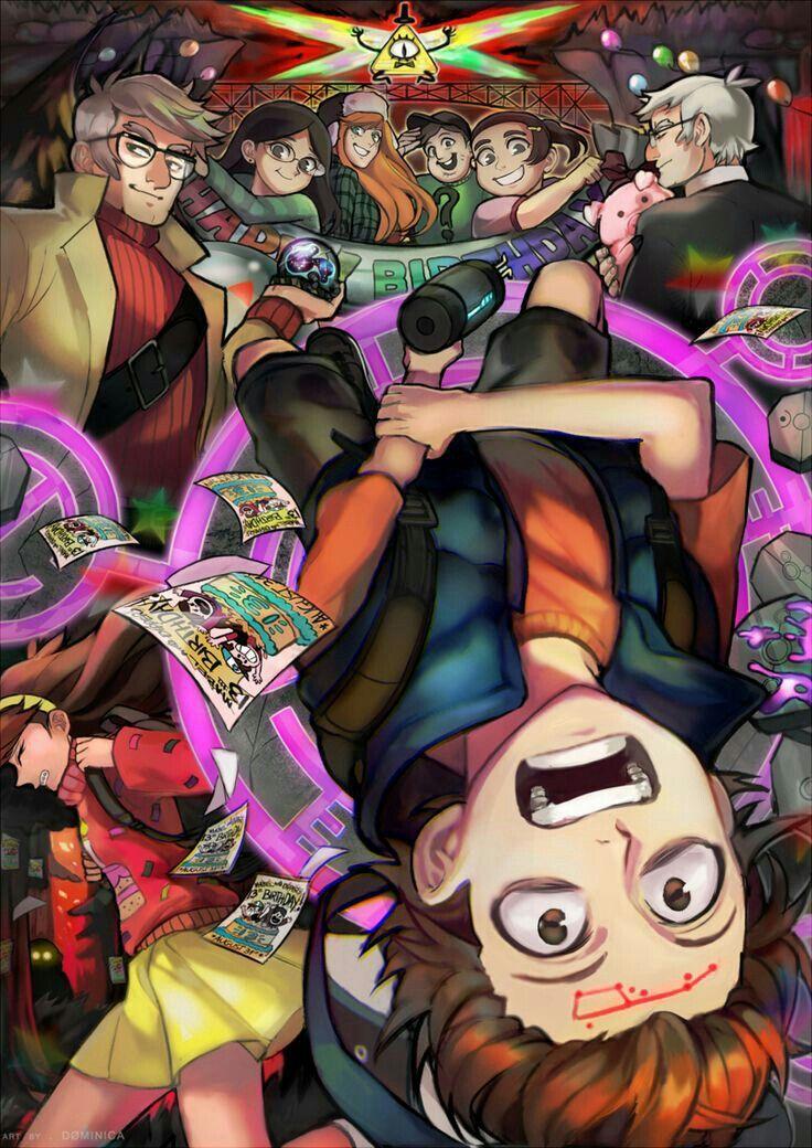 Pin by Nikki P on Gravity Falls Gravity falls anime