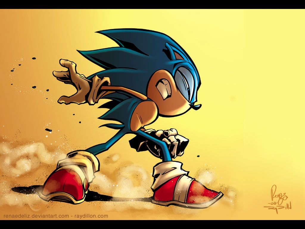 Sonic The Hedgehog Wallpaper by *RenaeDeLiz on deviantART
