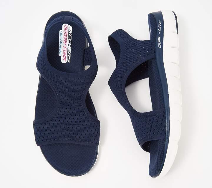 Skechers Knit Cutout Sport Sandals