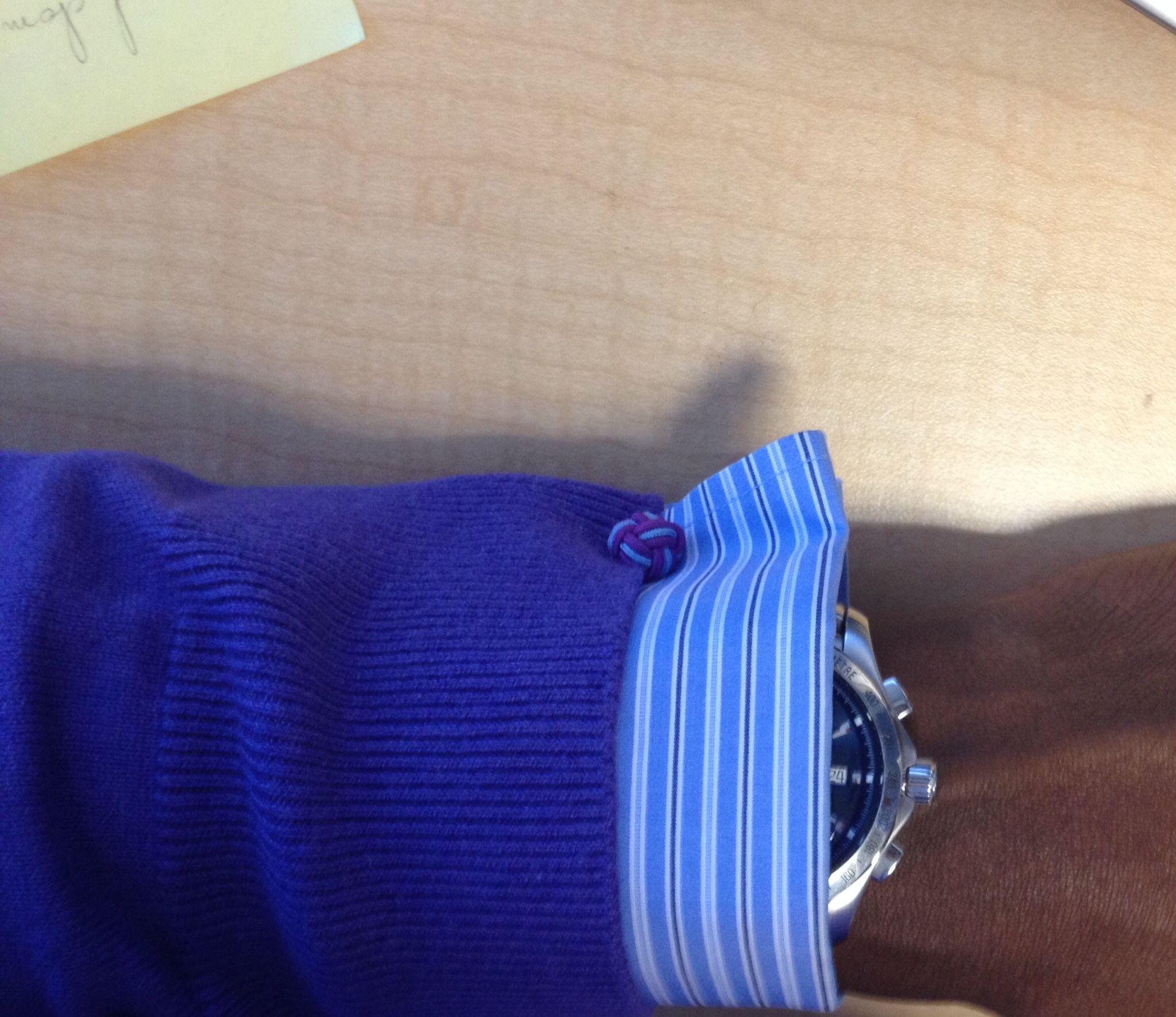 Purple jumper