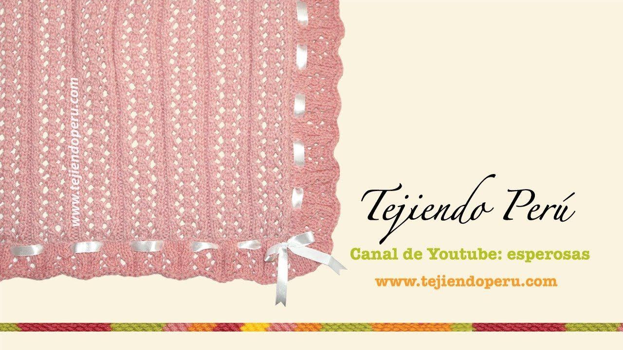 Cobija O Manta Con Tablillas Caladas Tejida En Dos Agujas Palitos Chevron Crochet Pattern Diagram Mantas Pinterest Hat Patternsbellisimaknitting