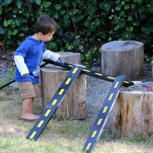 How to Make Wooden Roads and Ramps for Toy Cars