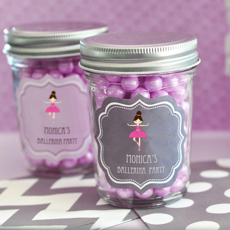 MOD Kid's Birthday Mini Mason Jars #masonjar #birthday #kidsbirthday