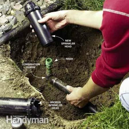 Fixing Sprinkler Systems Lawn System
