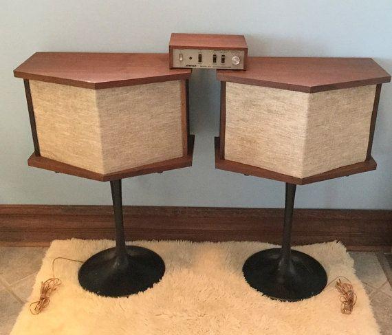 bose 901 vintage. vintage bose speakers tulip bases, equalizer 901 series ii pinterest